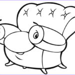 Kids Free Coloring Pages Cool Image Furniture Coloring Page For Kids To Print And For