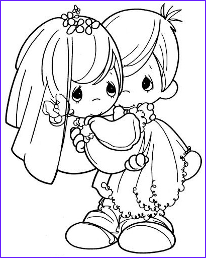 wedding coloring book for the kids