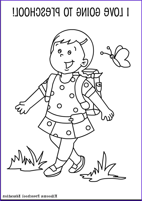 Kindergarten Coloring Sheets Awesome Collection Preschool Coloring Pages Bestofcoloring