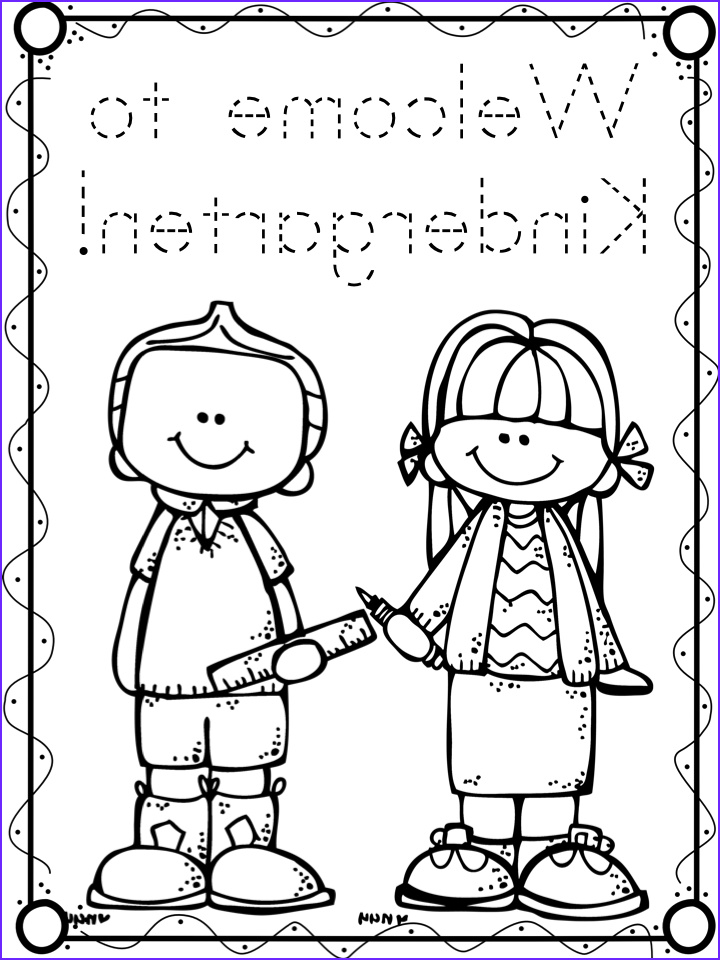 Kindergarten Coloring Sheets Beautiful Gallery A Teeny Tiny Teacher First Day Freebies