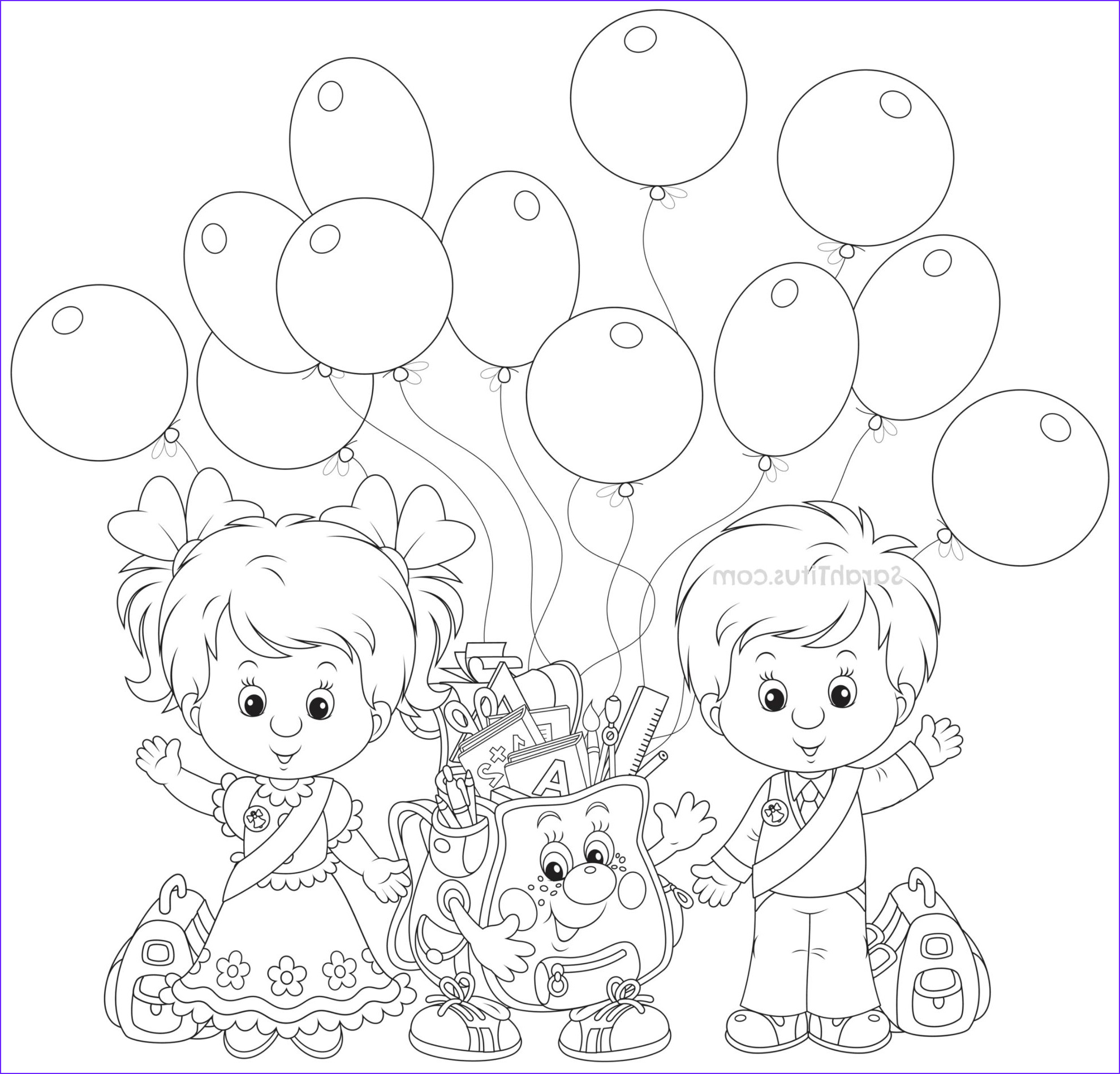 Kindergarten Coloring Sheets Luxury Photos Back to School Coloring Pages Sarah Titus