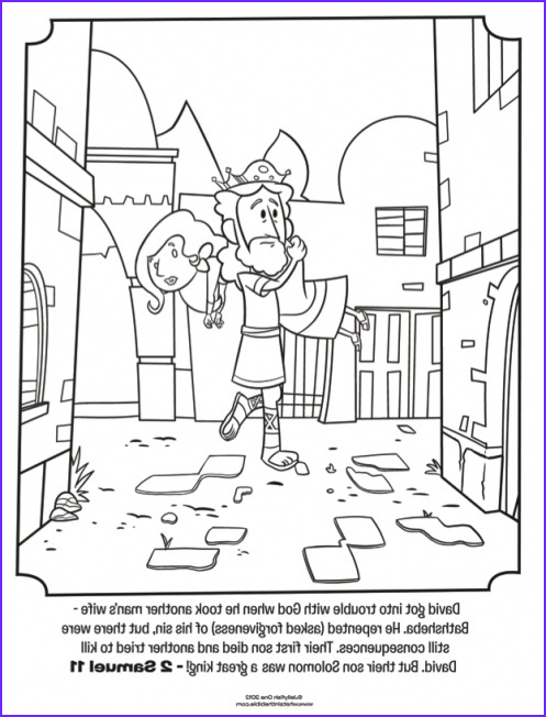 King David Coloring Page Best Of Collection Kids Coloring Page From What S In the Bible Featuring