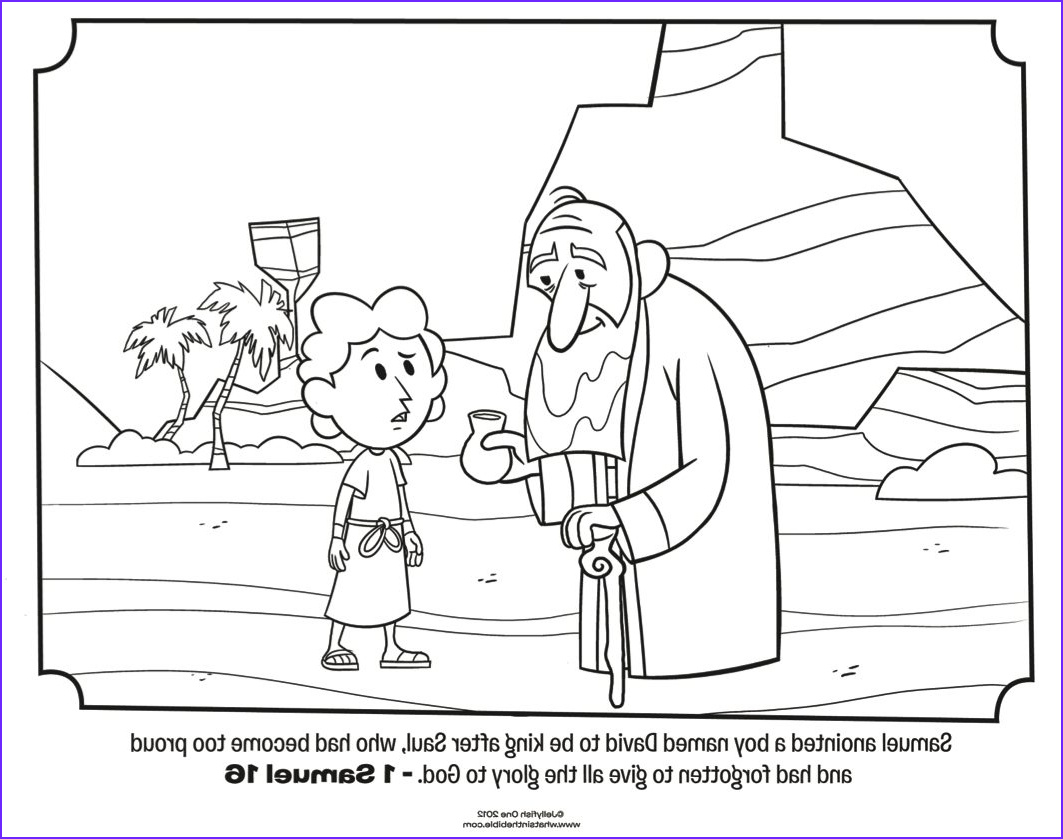 45 Beautiful Images Of King David Coloring Page