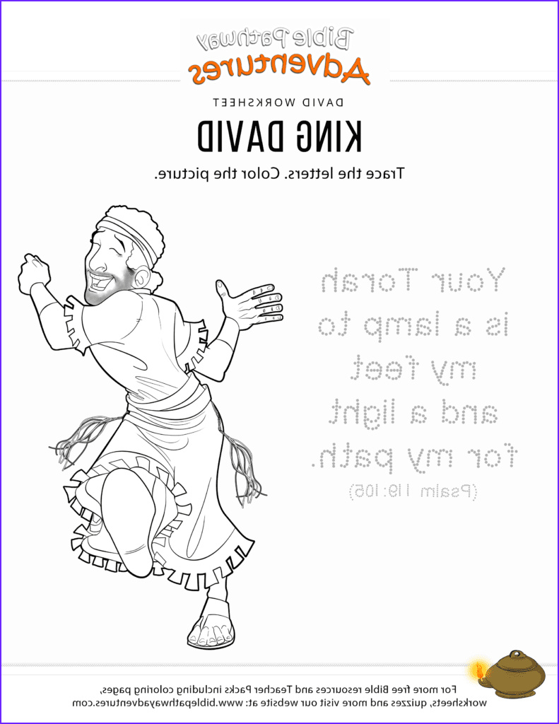 King David Coloring Page Best Of Photos Printable King David Bible Coloring Page