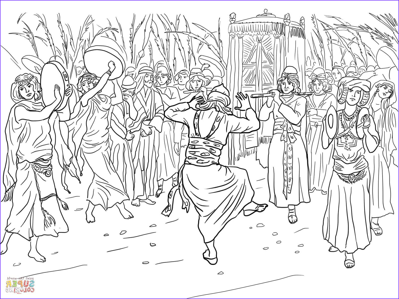 King David Coloring Page Inspirational Photos King David Dancing before the Ark Of the Covenant Coloring