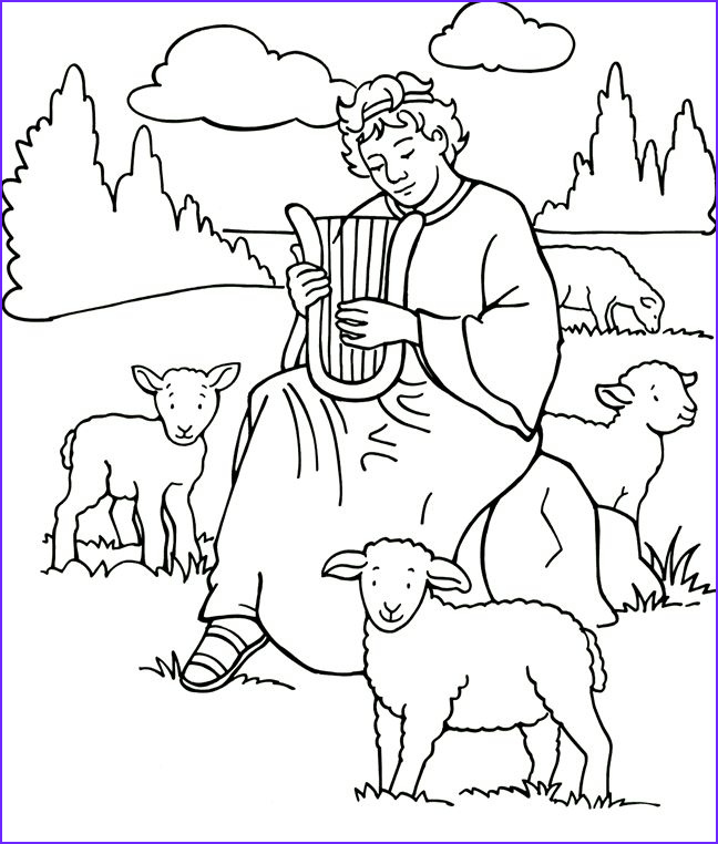 King David Coloring Page Luxury Photos 8 Best King David Images On Pinterest