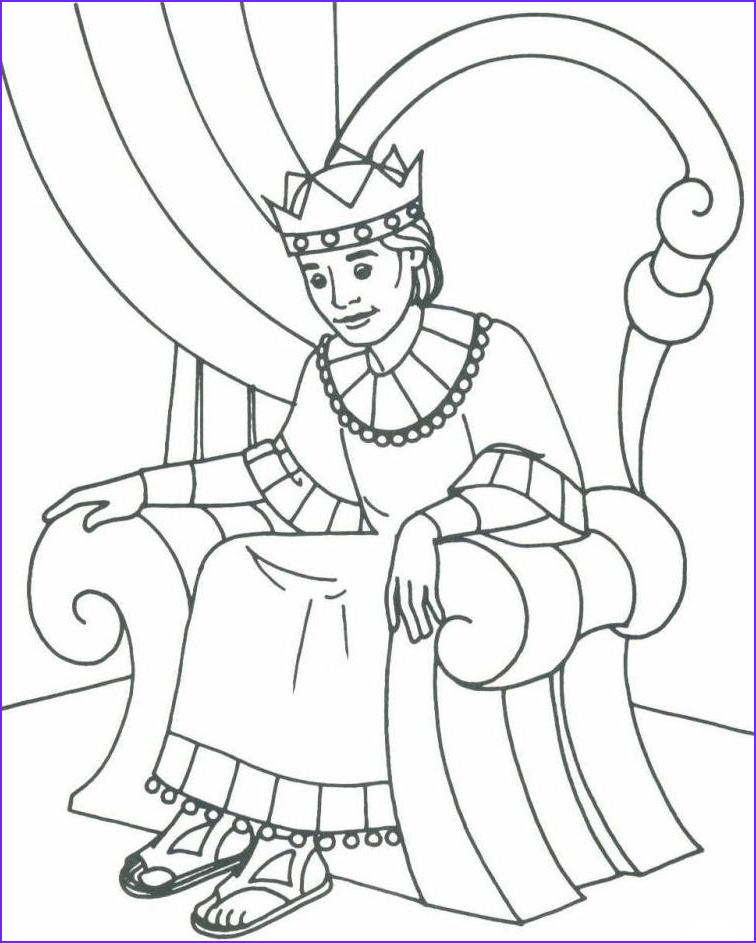 King David Coloring Page New Images Bible David as King Coloring Pages