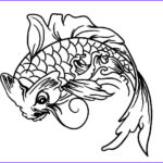 Koi Coloring Pages Awesome Images Download Line Coloring Pages For Free Part 32