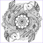 Koi Coloring Pages Awesome Photos Koi Coloring Page For Adults Tattoo Adult Coloring Page Koi