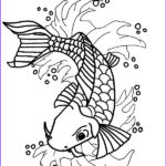 Koi Coloring Pages Best Of Collection Nishikigoi Koi Fish Coloring Pages Download & Print