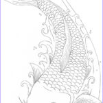 Koi Coloring Pages Best Of Photos Free Koi Fish Coloring Sheet