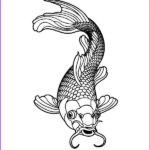 Koi Coloring Pages Elegant Collection Koi Fish Coloring Download Koi Fish Coloring
