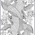 Koi Coloring Pages Luxury Collection Koi Fish Coloring Pages Pesquisa Google