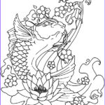 Koi Coloring Pages Luxury Photos Koi Fish Jumping Out Water Coloring Pages Download
