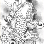Koi Coloring Pages New Stock Coy Fish Coloring Pages Coloring Home