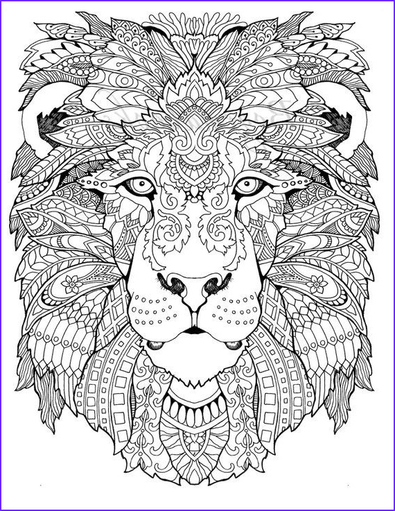 Large Adult Coloring Book Beautiful Gallery Awesome Animals Adult Coloring Pages Coloring Pages