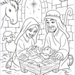 Lds Coloring Pages Awesome Photos The Birth Of Christ