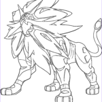 Legendary Pokemon Coloring Pages Inspirational Image Solgaleo Pokemon Legendary Generation 7 Coloring Pages
