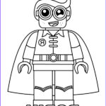 Lego Batman Coloring Elegant Photography Printable Coloring Page With Robin Lego Minifigure
