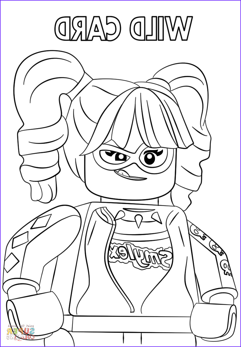 Lego Batman Coloring Luxury Photography Harley Quinn From the Lego Batman Movie Coloring Page