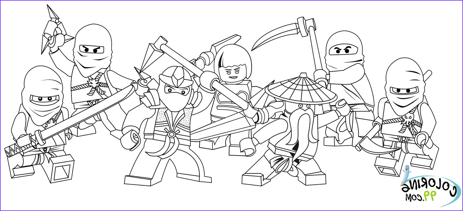 Lego Coloring Sheet Best Of Collection Lego Ninjago Coloring Pages