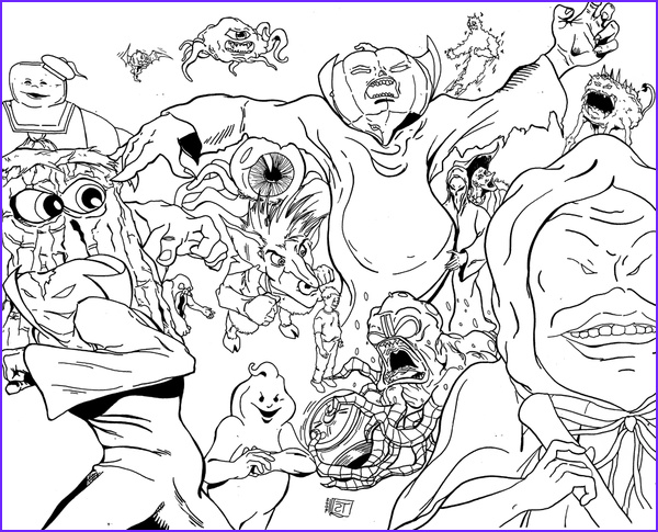 lego dimensions ghostbusters coloring pages sketch templates