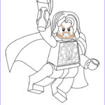 Lego Marvel Coloring Pages Beautiful Photos Free Lego Marvel Superheroes Thor Coloring Page Printable