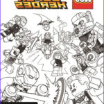 Lego Marvel Coloring Pages Cool Image Kids N Fun