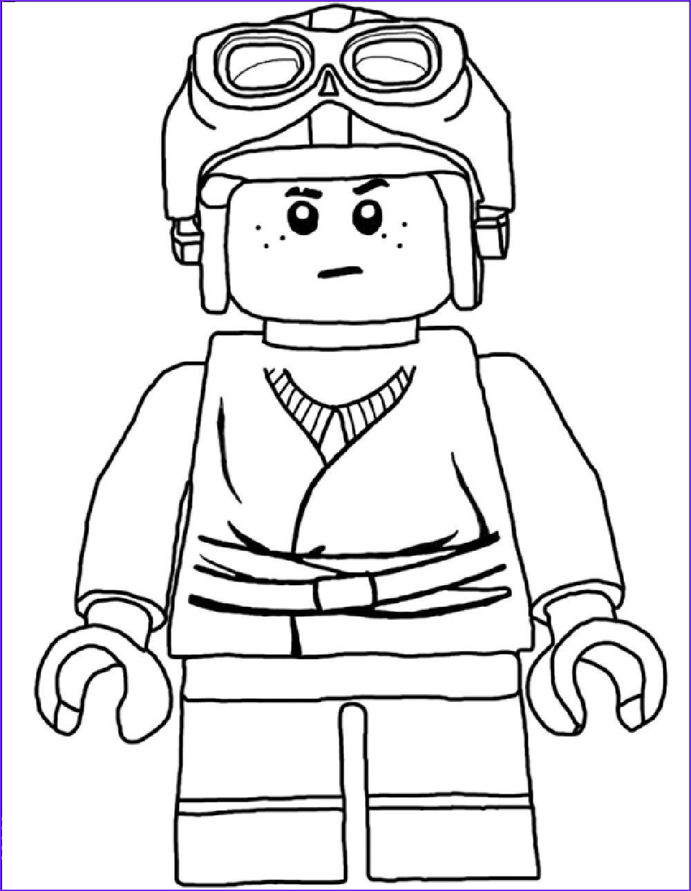 star wars lego coloring page
