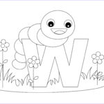 Letter A Coloring Pages For Toddlers Inspirational Images Free Printable Alphabet Coloring Pages For Kids Best