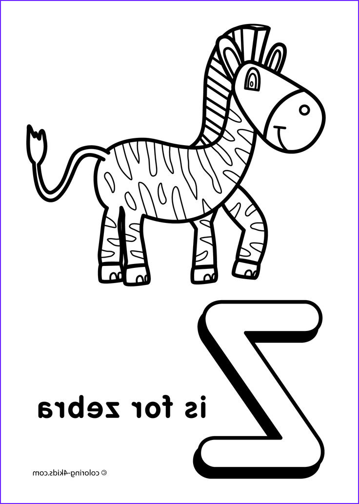 Letter Coloring Books Inspirational Stock Letter Z Coloring Pages Alphabet Coloring Pages Z Letter