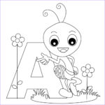 Letter Coloring Books New Images Free Printable Alphabet Coloring Pages For Kids Best