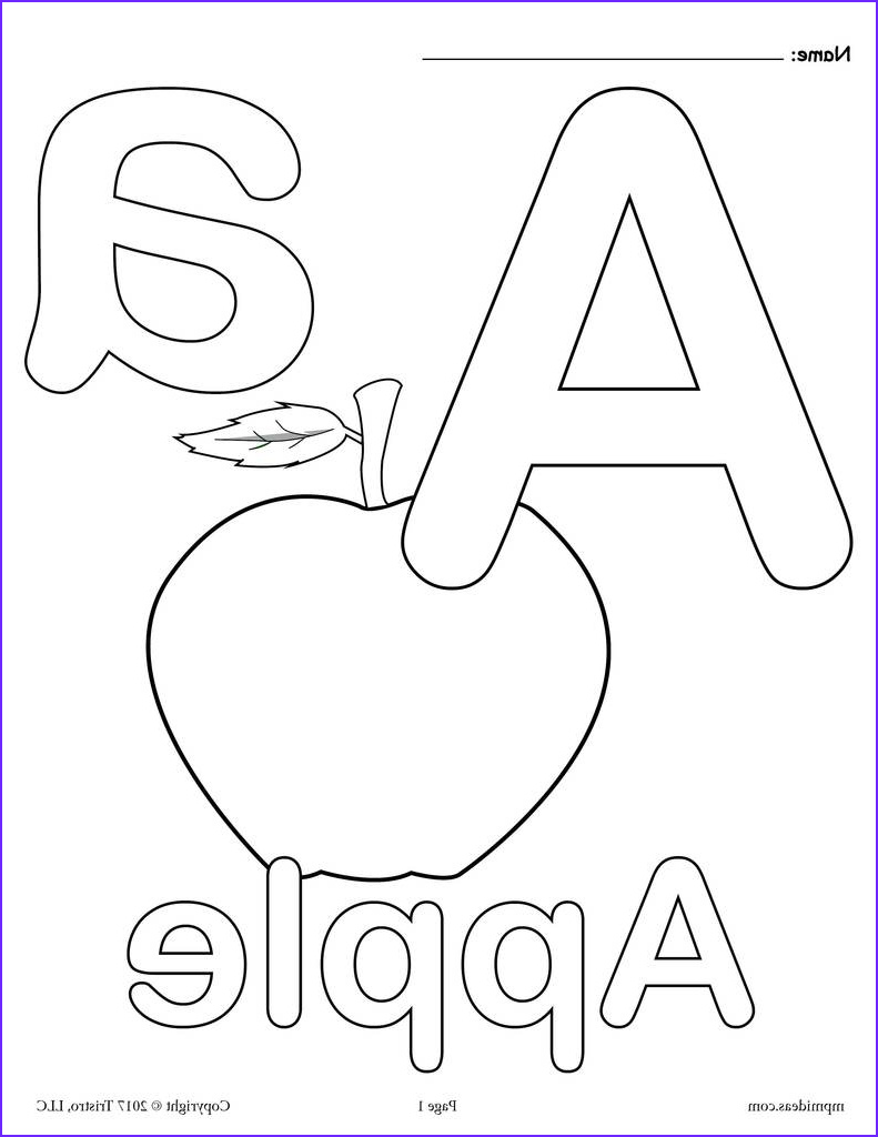 letter a alphabet coloring pages 3 free printable versions a7445