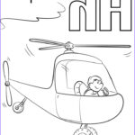 Letter H Coloring Pages Beautiful Photos Letter H Is For Helicopters Coloring Page From Letter H