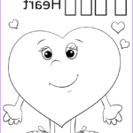 Letter H Coloring Pages Inspirational Photos Letter H Is For Heart Coloring Page
