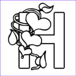 Letter H Coloring Pages Unique Gallery Free Letter H Printable Coloring Pages For Preschool