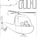 Letter H Coloring Pages Unique Gallery Letter H Is For Helicopters Coloring Page