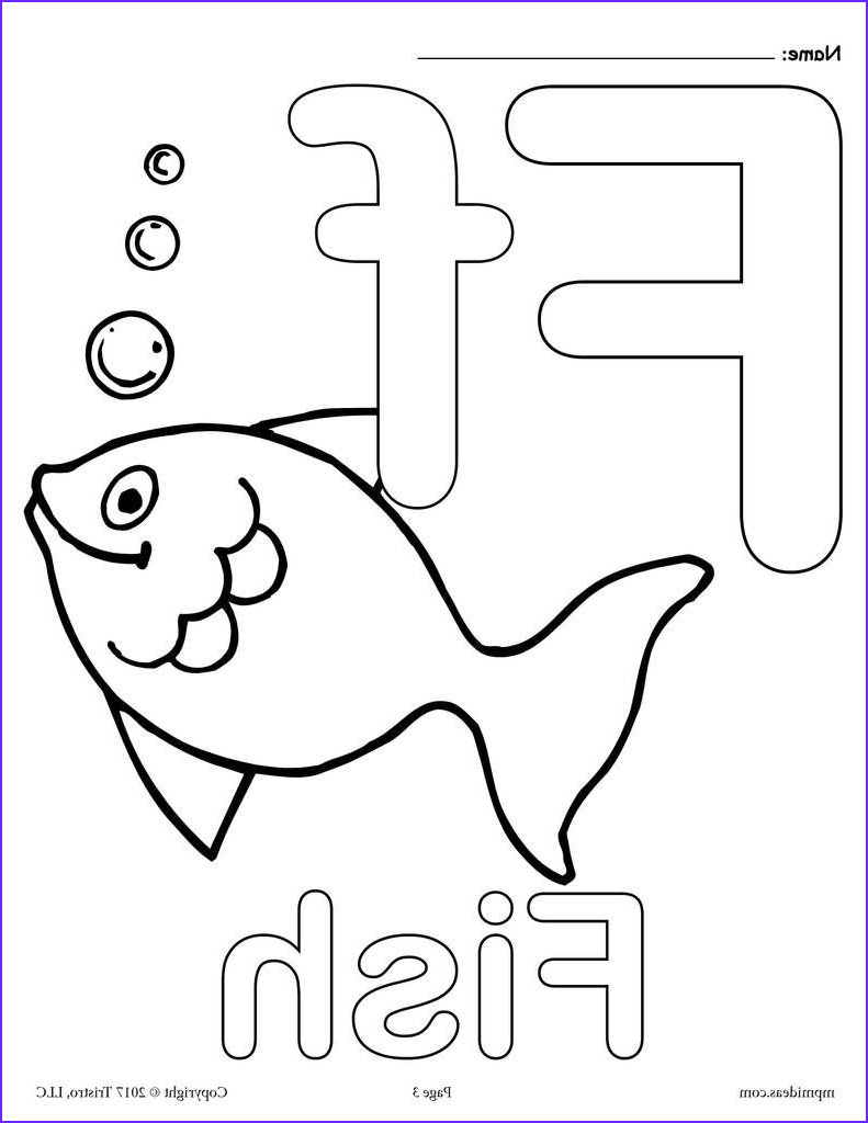 Letter I Coloring Pages for Preschoolers Beautiful Photography Letter F Alphabet Coloring Pages 3 Free Printable