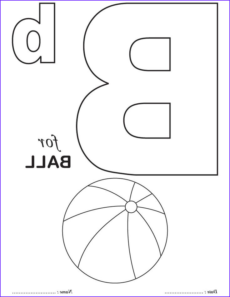 Letter I Coloring Pages for Preschoolers Best Of Images Printables Alphabet B Coloring Sheets