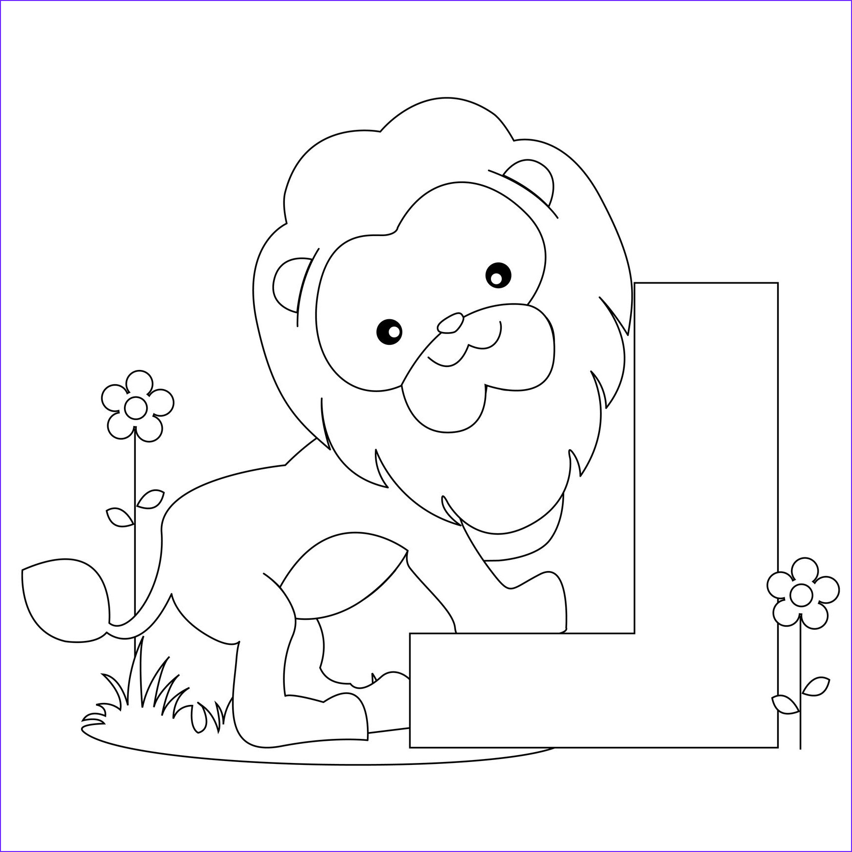 Letter I Coloring Pages for Preschoolers Best Of Stock Image Detail for Animal Alphabet Letter L Coloring