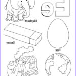 Letter I Coloring Pages For Preschoolers Cool Collection My A To Z Coloring Book Letter E Coloring Page Simple