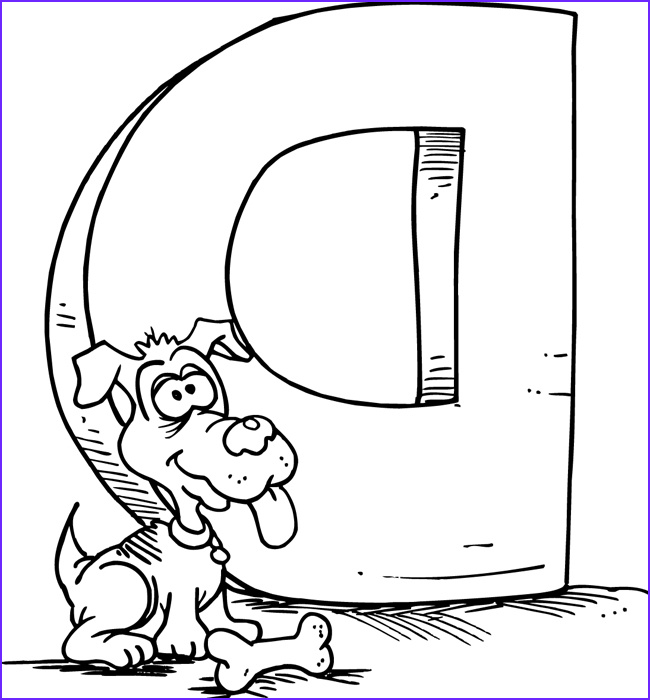 Letter I Coloring Pages for Preschoolers Cool Image Letter D Coloring Pages