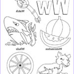 Letter I Coloring Pages For Preschoolers Luxury Collection My A To Z Coloring Book Letter W Coloring Page
