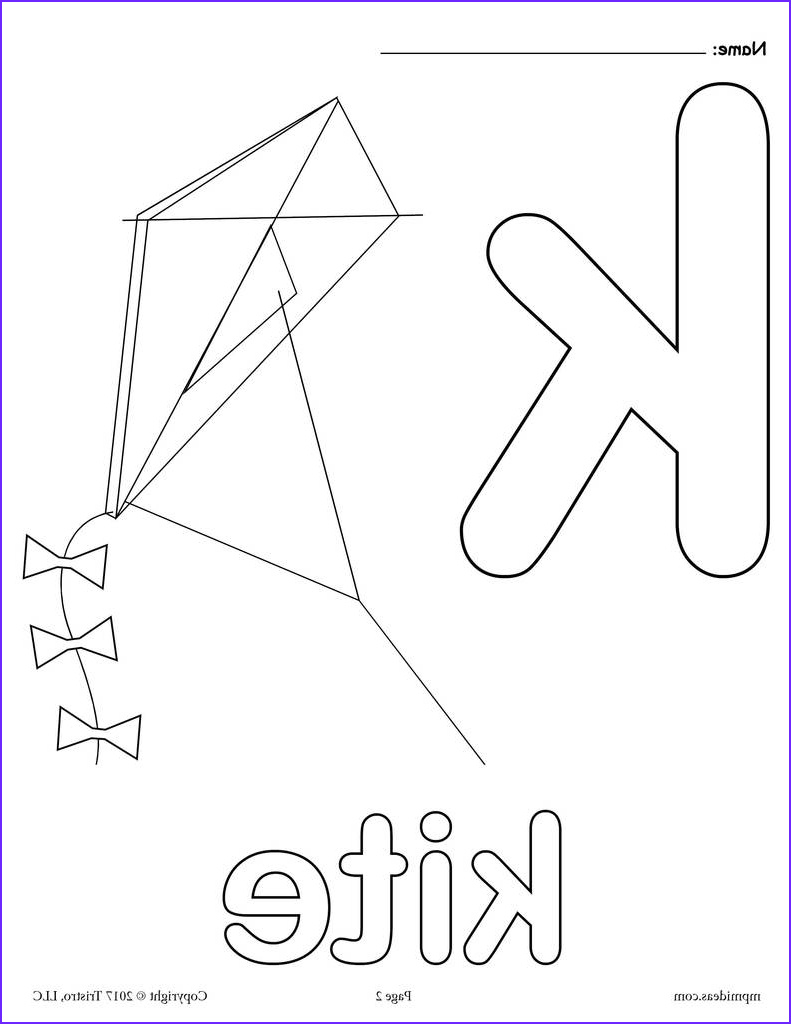 Letter K Coloring Sheet Beautiful Gallery Letter K Alphabet Coloring Pages 3 Free Printable