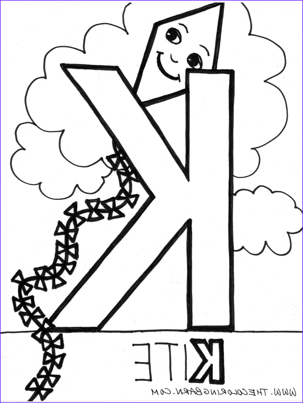 Letter K Coloring Sheet Beautiful Gallery Letter K Coloring Pages