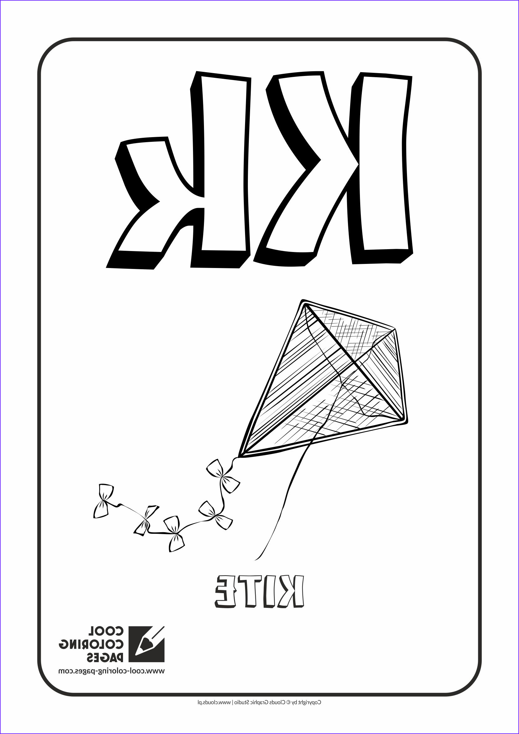 Letter K Coloring Sheet Best Of Photos Cool Coloring Pages Alphabet Coloring Pages Cool
