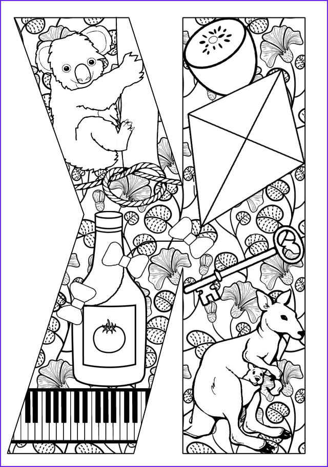 Letter K Coloring Sheet Luxury Collection Things that Start with K Free Printable Coloring Pages