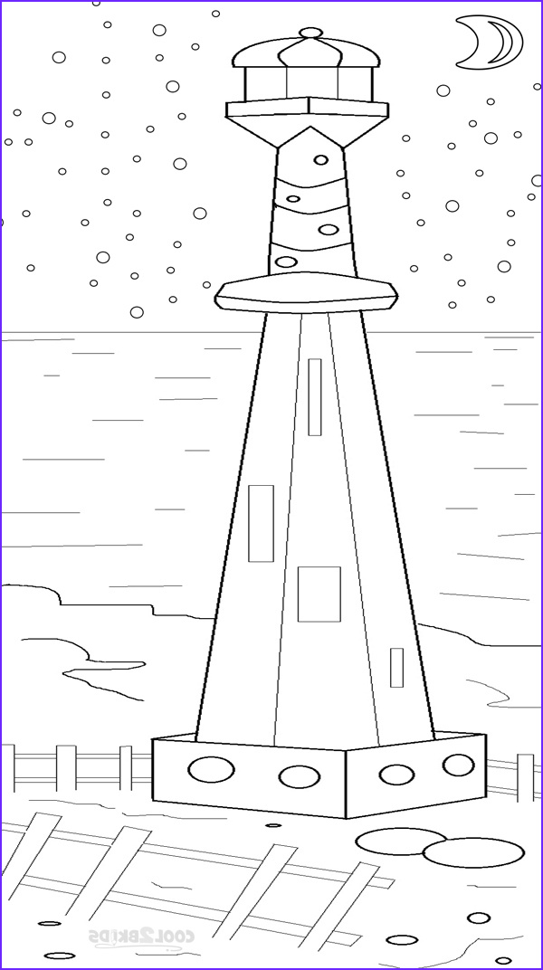 Lighthouse Coloring Pages Awesome Collection Printable Lighthouse Coloring Pages for Kids