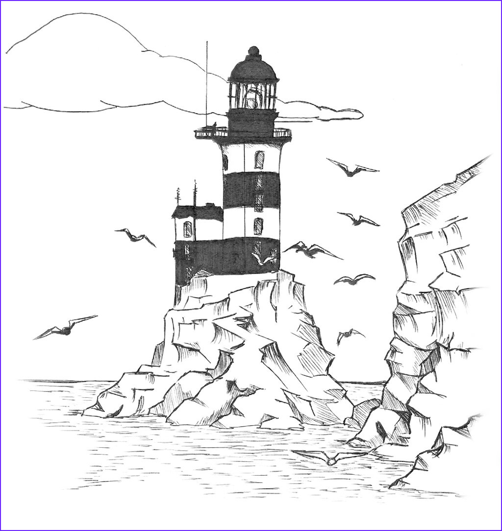 Lighthouse Coloring Pages Beautiful Photos Lighthouse Coloring Pages Bestofcoloring
