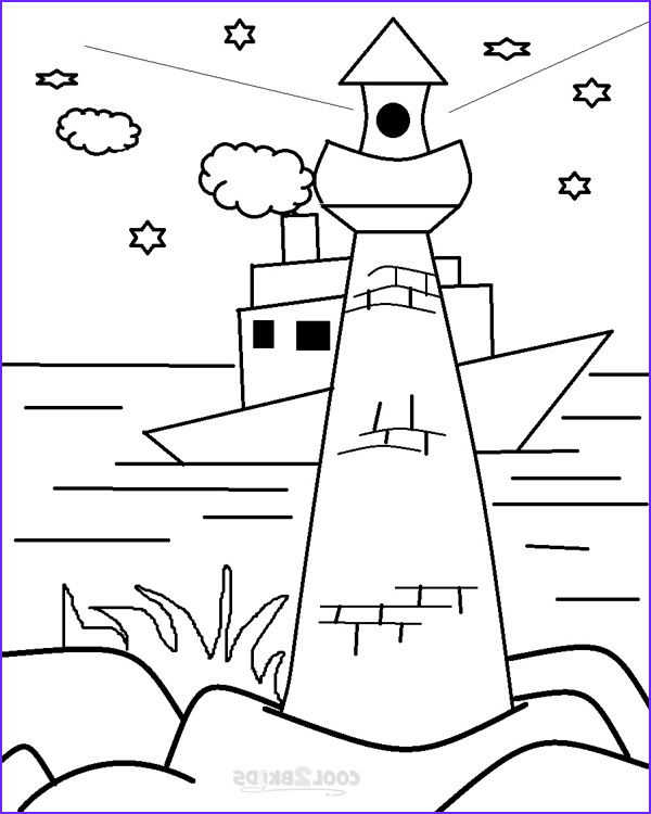 Lighthouse Coloring Pages Beautiful Photos Printable Lighthouse Coloring Pages for Kids